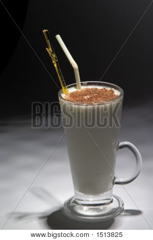 White Drink Witch Chocolate.