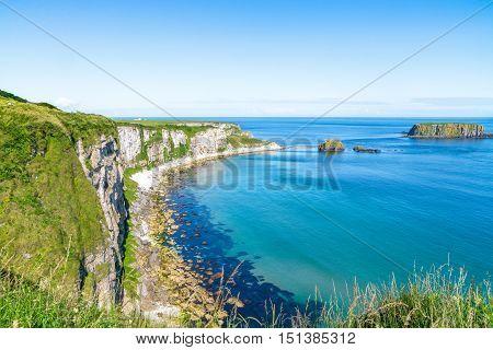 Beautiful Landscape Of Cliffs In Ireland