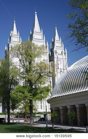 Salt Lake Temple and Tabernacle