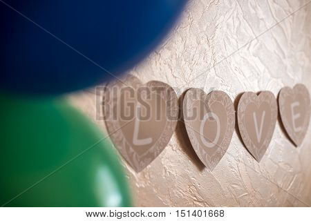 Love Letters On The Wall