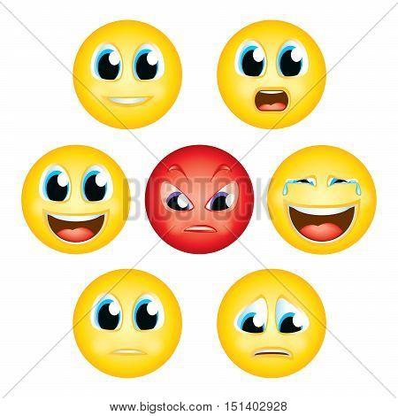 emoji emoticon expression faces character smiley avatar cartoon