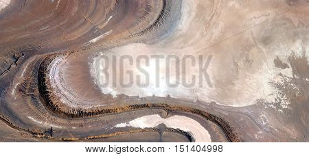 Stone tongue,abstract landscapes of deserts, abstract photography deserts of Africa from the air,