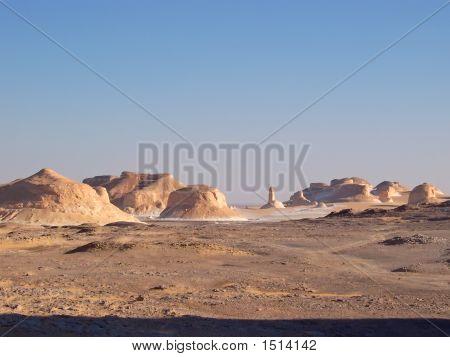 Mountains Of The White Desert, Lybian Desert, Egypt