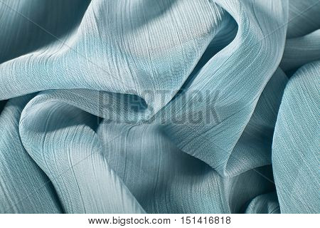 Chiffon Fabric Background Texture.