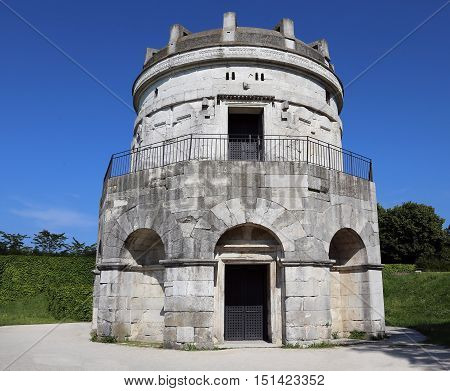 Entrance To The Mausoleum Of Theoderic