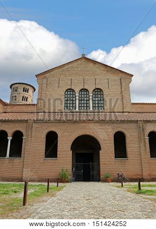 Basilica Saint Apollinare In Classe Near Ravenna In Italy