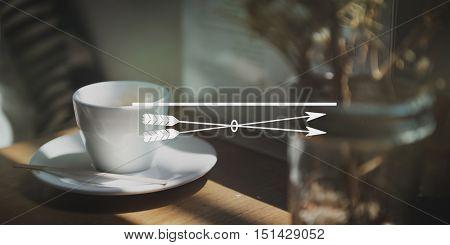 Clarity Concentrate Determine Focus Target Concept
