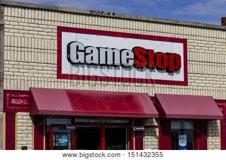Kokomo - Circa October 2016: GameStop Strip Mall Location. GameStop is a Video Game and Electronics Retailer I