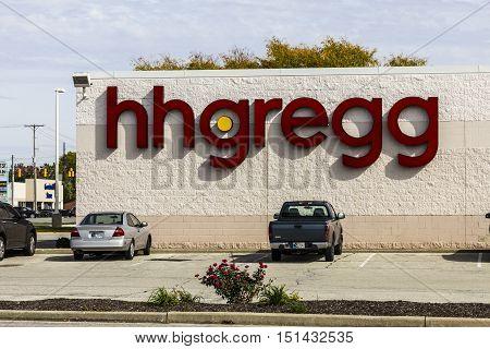 Kokomo - Circa October 2016: hhgregg location. hhgregg is a retailer of consumer electronics and home appliances III