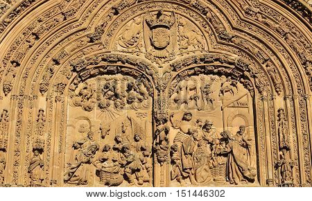 New Cathedral Of Salamanca - Adoration By The Magi