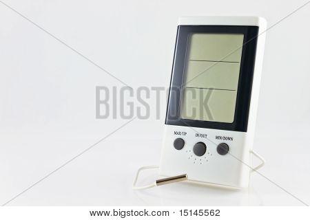 White Digital Hygrometer