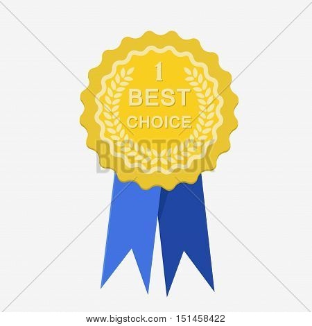 Stylish Best Choice Label Sign