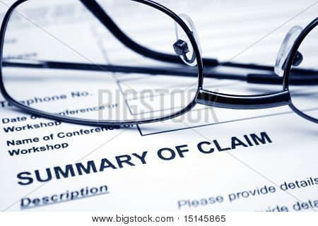 Summary of claim