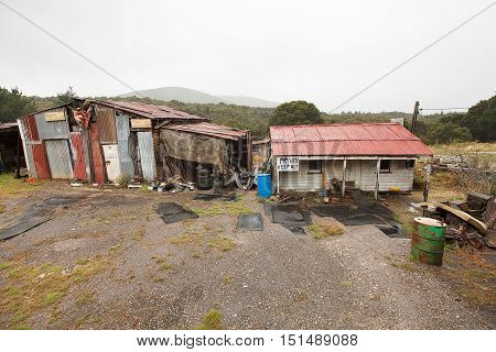 Rundown And Ramshackle Home