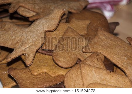 swedens traditional christmas cookie, ginger bread figures