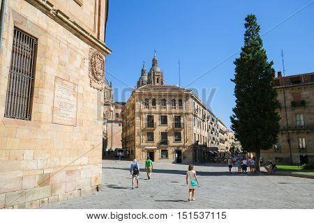 Historic Architecture In Salamanca, Spain
