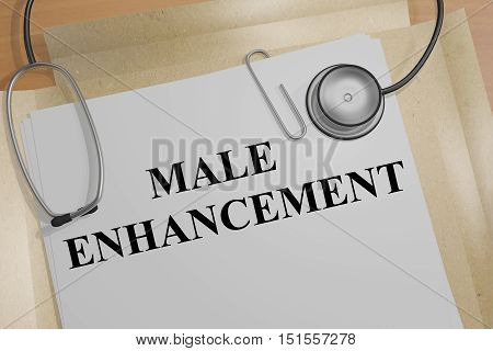 Male Enhancement Concept