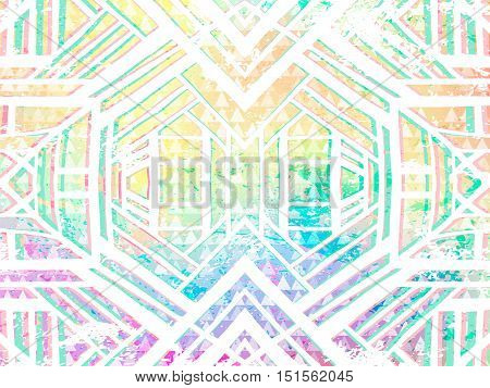 Background Abstract Boho Hippie Holographic Light Colors