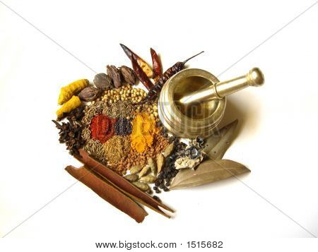 Spices With Mortar 4