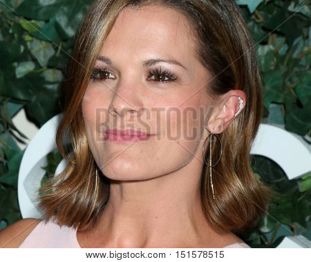 LOS ANGELES - OCT 10:  Melissa Claire Egan at the CBS Daytime #1 for 30 Years Exhibit Reception at the Paley Center For Media on October 10, 2016 in Beverly Hills, CA