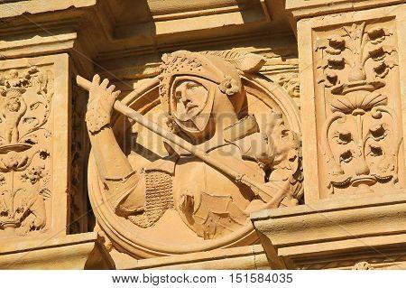 Convento De San Esteban In Salamanca - Medieval Knight