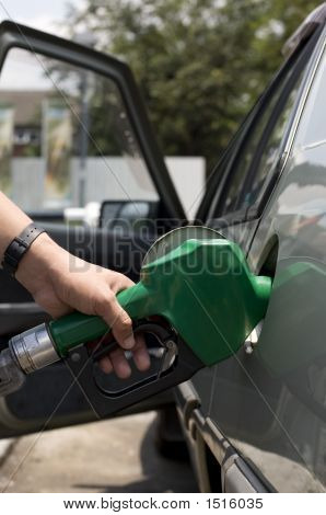 Pouring Gasoline