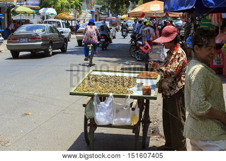 Street Food In Phnom Phen
