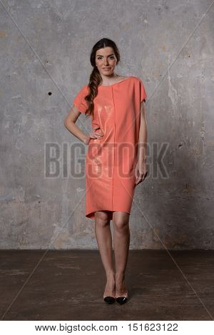 Girl In Summer Dress