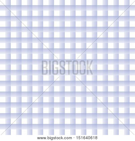 Background of pastel lilac plaid pattern. Checked tablecloth