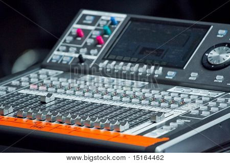 Electronic Mixing Desk
