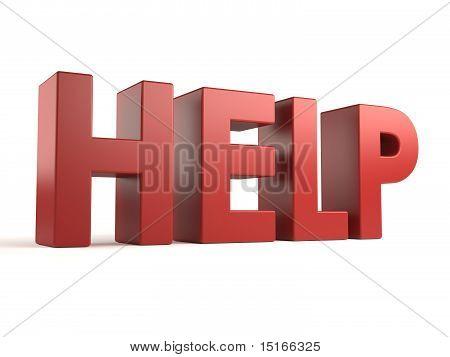 big 3d text - help