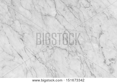 Detailed structure of white marble in natural gray patterned for background and interior design.