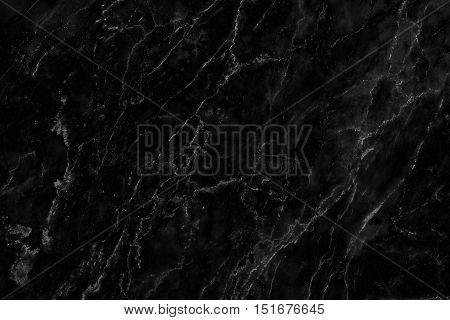 Black marble texture detailed structure of marble in natural gray patterned for background and interior design.