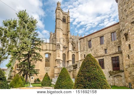 Cathedral os Saint Just ant Saint Pasteur in Narbonne - France