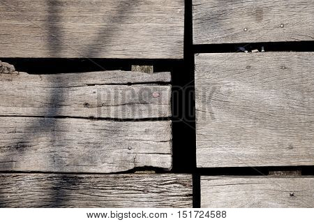 Old rough wood board detail. background texture