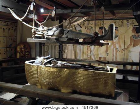 Tutankhamen'S Sacrophagus