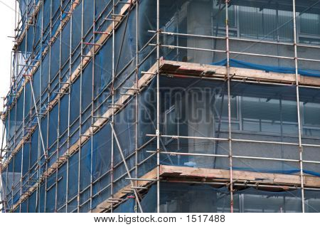 Corner Scaffolding