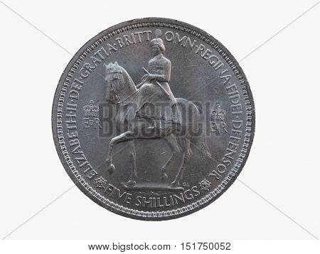 Coronation Crown Coin (1953)