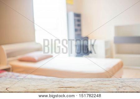 Defocus Background Of Bedroom Interior