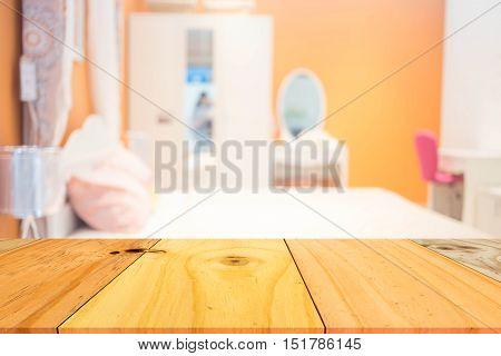 Defocused Of  Bedroom Style ( Blur  Bedroom  For Background )