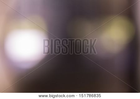 Artistic Backdrop : Defused Lights on an abstract canvas