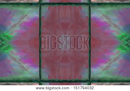 Symmetrical Color Background