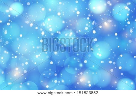 Winter background with snowdrifts and brilliant snow