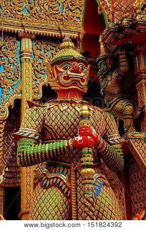 Nakhon Pathom Thailand - December 27 2005: Giant