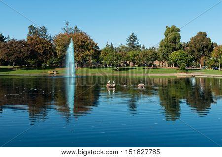 Blue Reflecting Pool