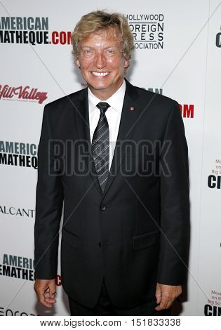 Nigel Lythgoe at the 30th Annual American Cinematheque Awards Gala held at the Beverly Hilton Hotel in Beverly Hills, USA on October 14, 2016.