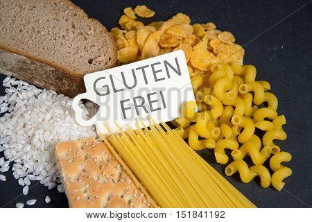 gluten frei - the german words for gluten free