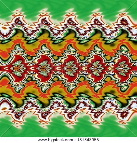 Abstract image,colorful graphics,tapestry,horizontal pattern, ornament,bright colors,abstract background