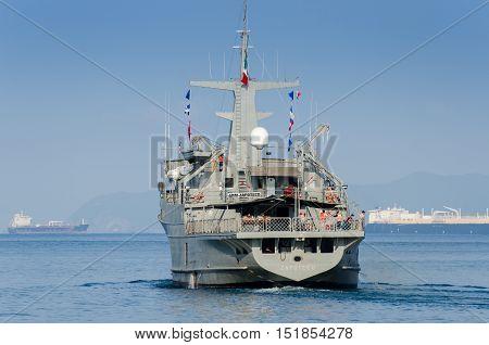 Mexican Navy Ship - Zapoteco