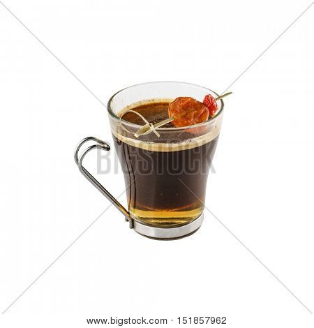 coffee with syrop